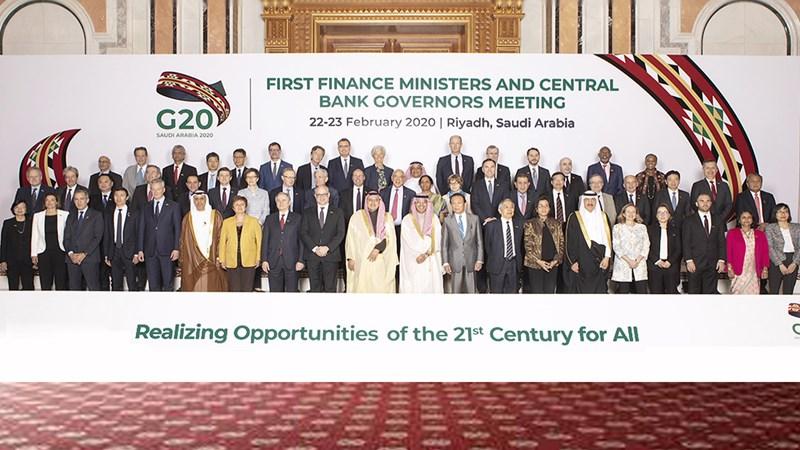 Bộ trưởng G20 cam kết tăng cường giám sát rủi ro toàn cầu