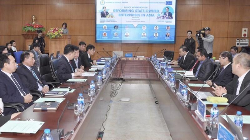 Học viện Tài chính: Hợp tác nghiên cứu kinh nghiệm quốc tế trong cải cách DNNN