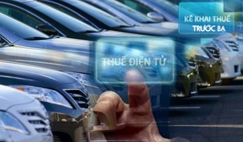 Tổng cục Thuế triển khai nộp lệ phí trước bạ điện tử ôtô, xe máy