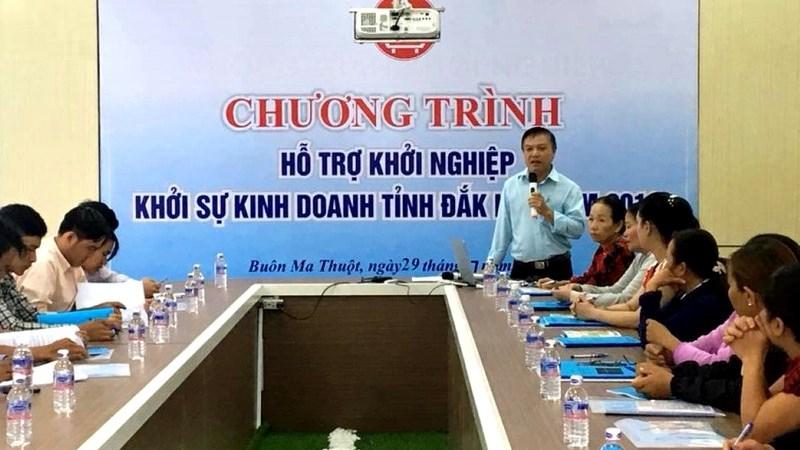 Đắk Lắk chú trọng hỗ trợ khởi nghiệp đổi mới sáng tạo