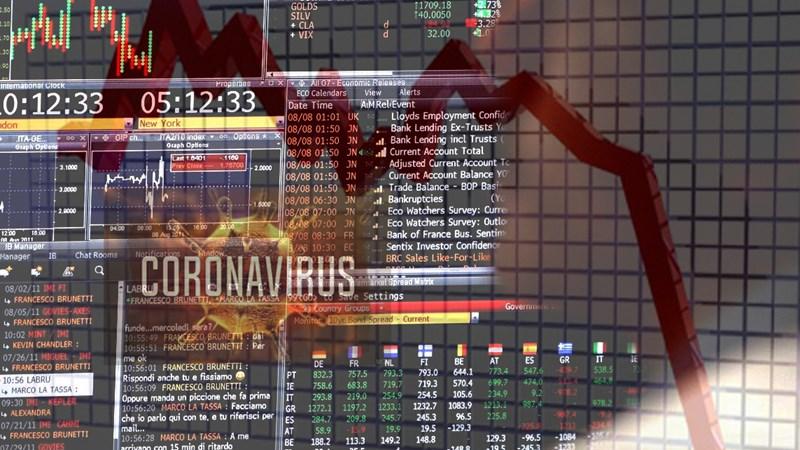 Thị trường chứng khoán thế giới lao dốc vì tác động của dịch Covid-19
