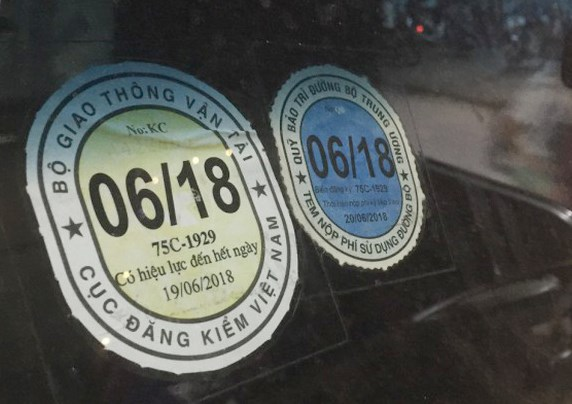 Thủ tục miễn nộp phí đường bộ khi xe ô tô nghỉ lưu hành