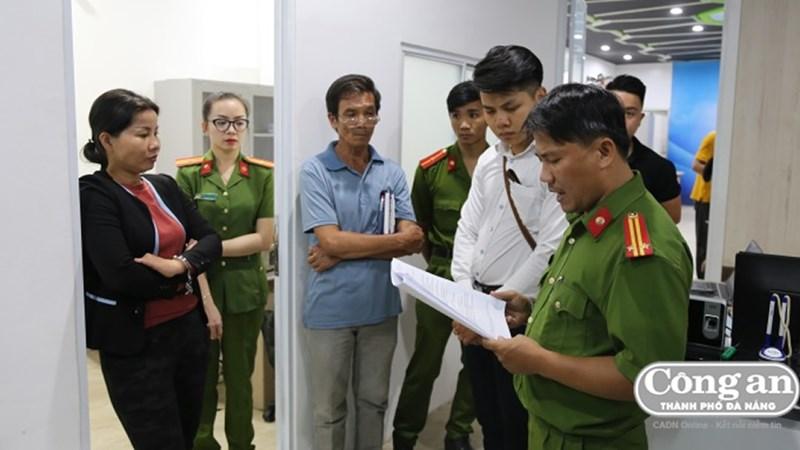 Bắt giam Tổng giám đốc Công ty Quảng Đà lừa đảo bán khống đất nền
