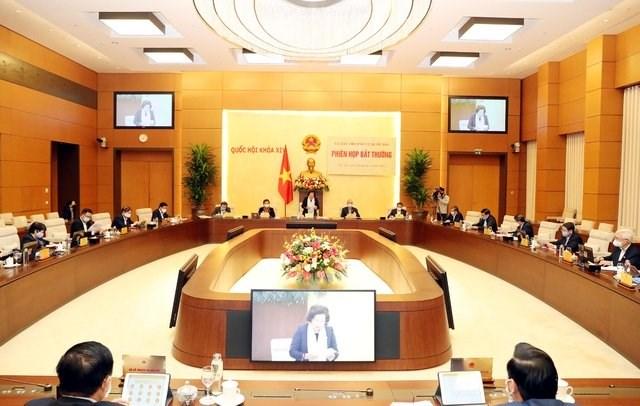 COVID-19: Ủy ban Thường vụ Quốc hội thống nhất các nguyên tắc hỗ trợ người dân