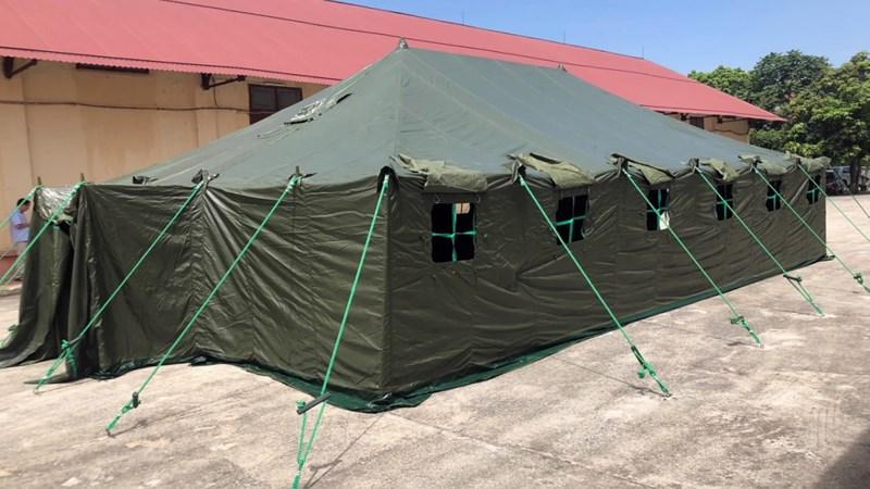 Xuất cấp 2.600 bộ nhà bạt phục vụ phòng, chống dịch Covid-19