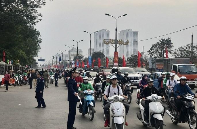 Hà Nội: Đảm bảo trật tự, an toàn giao thông dịp nghỉ Lễ 30/4 và 1/5