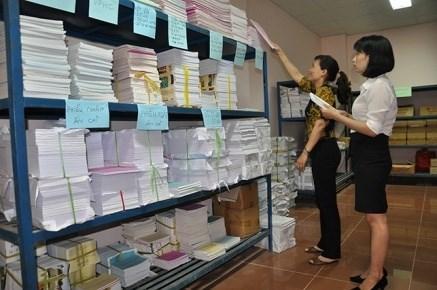 Bảo quản, lưu trữ tài liệu kế toán tại các đơn vị kế toán theo luật kế toán