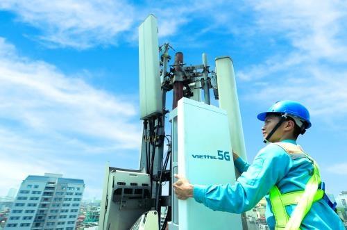 Viettel phát sóng 5G đầu tiên tại Hồ Hoàn Kiếm (Hà Nội)