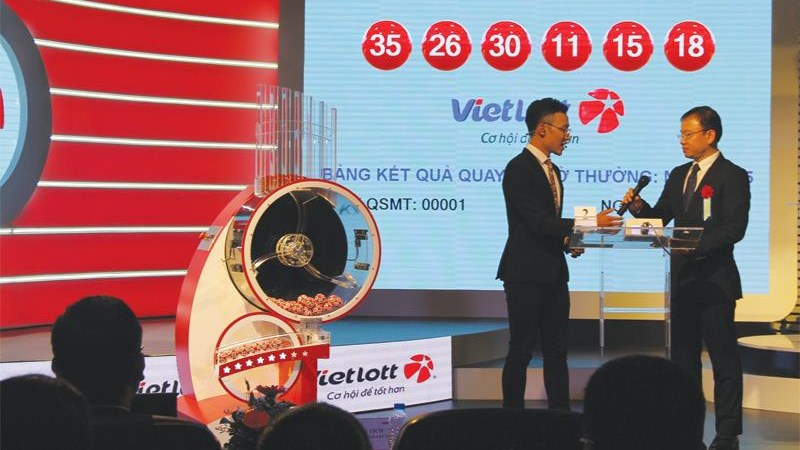 Vietlott duy trì đà tăng trưởng trong năm 2020
