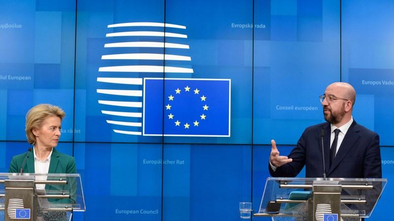 EC dự báo nền kinh tế Eurozone sẽ giảm 7,7% trong năm nay