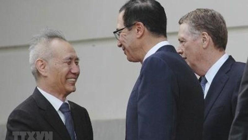 Mỹ và Trung Quốc bắt đầu ngày đàm phán thương mại thứ 2
