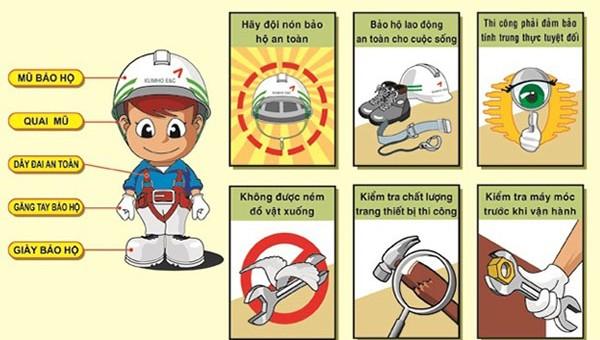 10 điều cần biết về an toàn, vệ sinh lao động