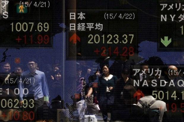 Thị trường chứng khoán châu Á đồng loạt tăng điểm phiên sáng 10/6