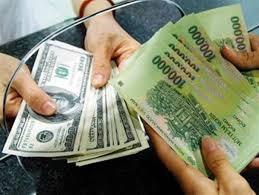 Tỷ giá tiếp tục giảm tại các ngân hàng thương mại