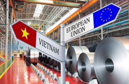 Hiệp định thương mại tự do Việt Nam-EU: Ngành thép nắm bắt thời cơ