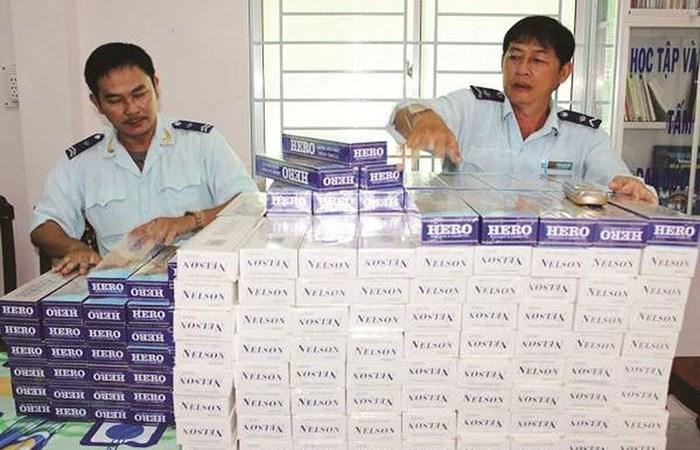 Bộ Tài chính quyết liệt kiểm tra, xử lý các vụ buôn lậu thuốc lá