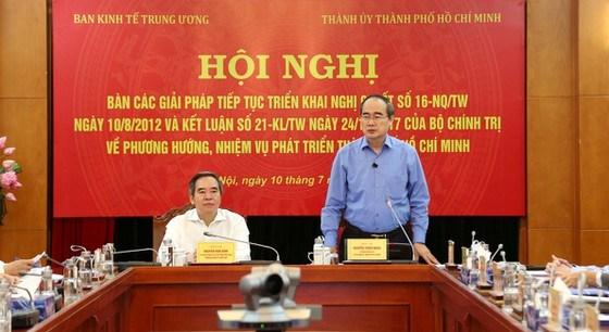 Ban Kinh tế Trung ương ủng hộ việc xem xét tăng tỷ lệ điều tiết ngân sách cho TP. Hồ Chí Minh