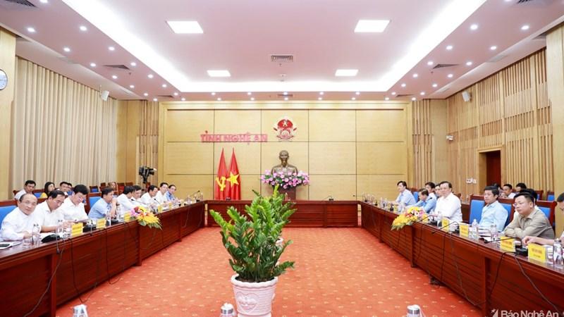 Bộ trưởng Đinh Tiến Dũng: Tỉnh Nghệ An cần tiếp tục kiên định thực hiện mục tiêu tài chính - ngân sách