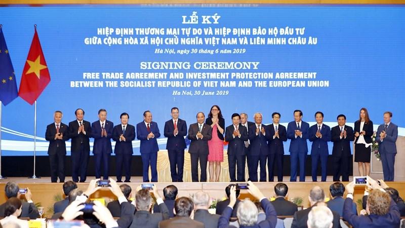 Ủy ban châu Âu ra thông cáo báo chí về EVFTA