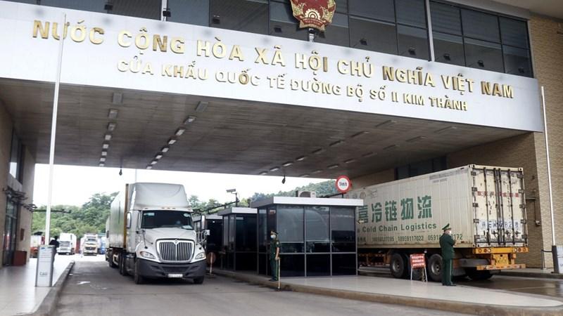Tạo điều kiện cho doanh nghiệp xuất khẩu nông sản qua cửa khẩu Lào Cai