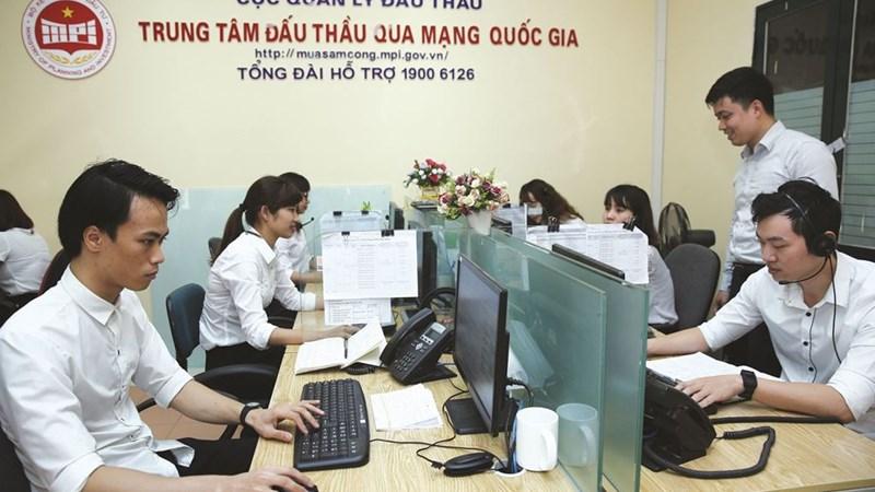 Bộ Kế hoạch và Đầu tư đề xuất lộ trình đấu thầu qua mạng