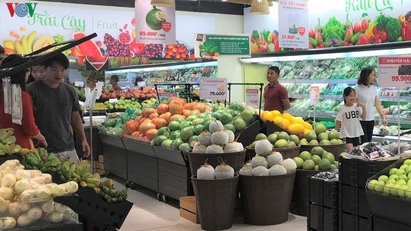 Xuất khẩu rau quả tiếp tục sụt giảm