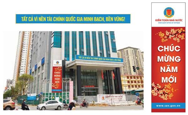 Một số hình ảnh về Bộ nhận diện Kiểm toán Nhà nước theo Logo mới
