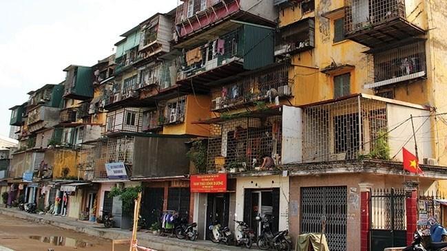 Hà Nội giao nhà đầu tư nghiên cứu cải tạo, xây dựng lại 30 chung cư cũ