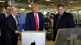 Tổng thống Mỹ cân nhắc miễn thuế nhập khẩu hàng Trung Quốc cho Apple