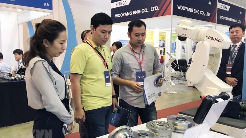 Khai mạc chuỗi triển lãm công nghiệp hỗ trợ tại TP. Hồ Chí Minh