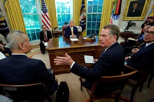 Mỹ đạt thoả thuận thương mại có giới hạn với Trung Quốc