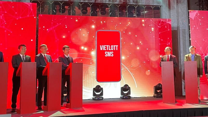 Vietlott phát hành vé qua kênh SMS