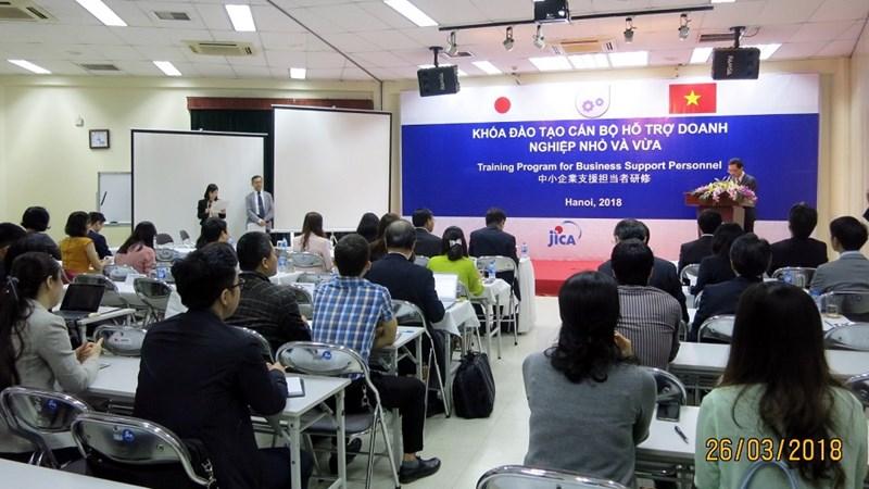 Nhật Bản hỗ trợ đào tạo cho doanh nghiệp nhỏ và vừa của Việt Nam