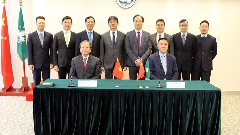 Việt Nam và Macao ký Hiệp định tránh đánh thuế hai lần