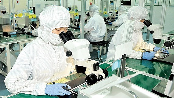 Kim ngạch xuất khẩu ngành điện - điện tử sụt giảm