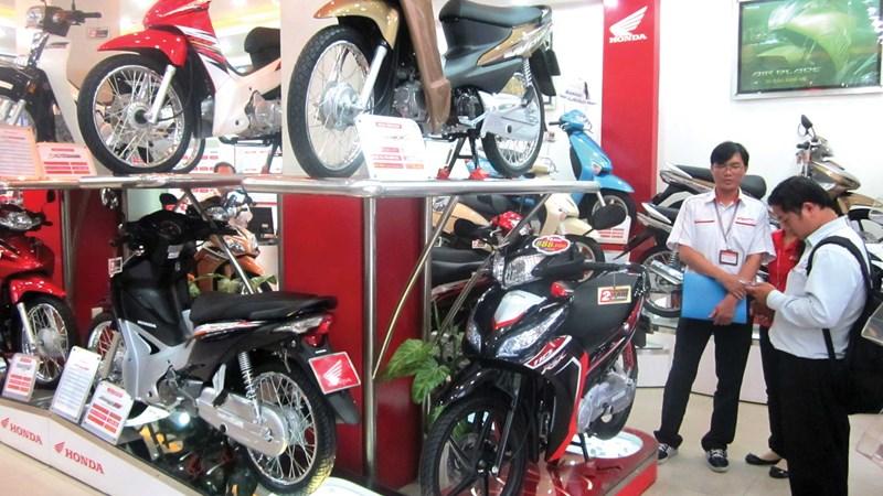 Thị trường xe máy đang