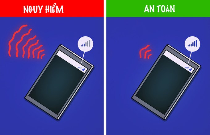 Năm sai lầm khi dùng smartphone