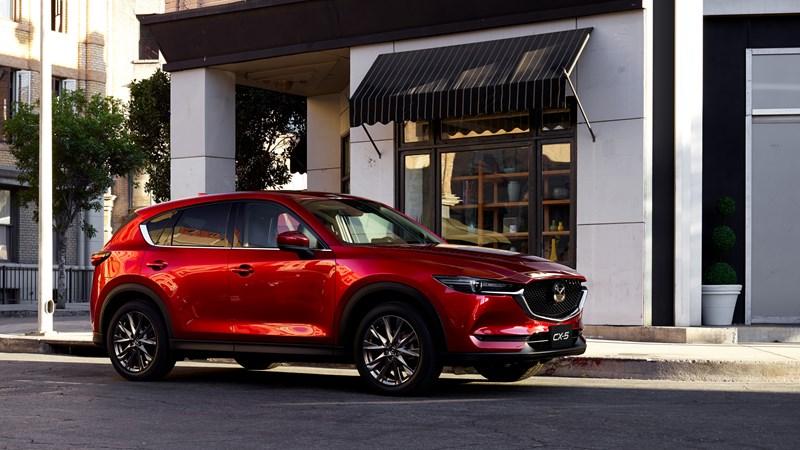 MAZDA CX-5 dẫn đầu phân khúc SUV cỡ trung năm 2020