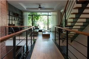 Thiết kế hiện đại kết hợp yếu tố truyền thống Bắc bộ của ngôi nhà 5 tầng ở Hà Nội