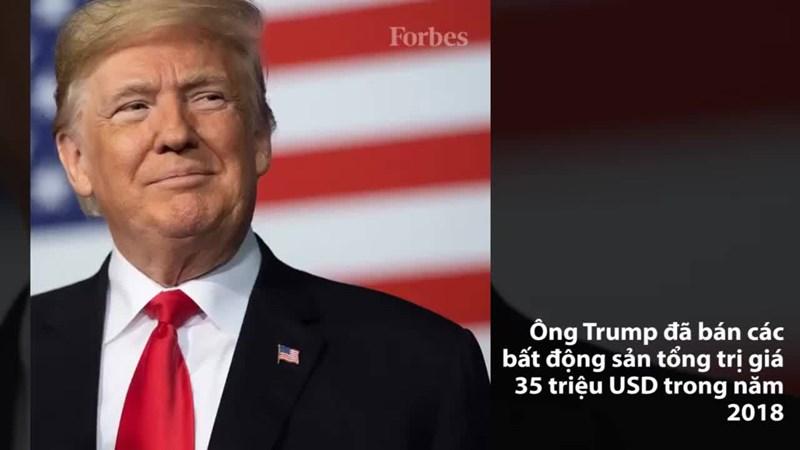 Donald Trump thu về 35 triệu USD trong 2018 từ bán bất động sản