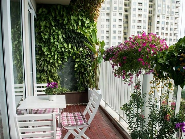 Cách tạo không gian xanh cho căn hộ chung cư