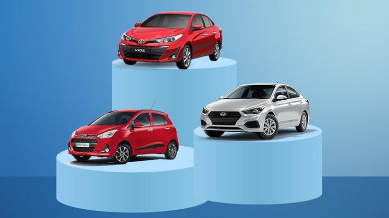 Top ô tô bán chạy tháng 2: Toyota Vios quay lại vị trí dẫn đầu