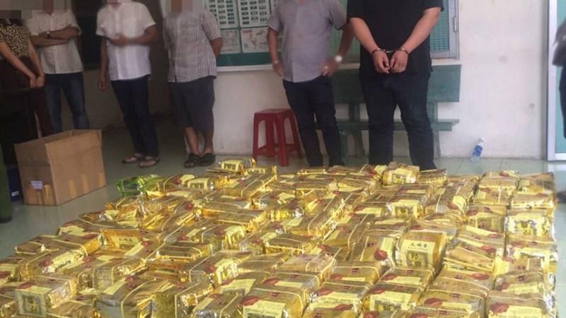 Hai chuyên án triệt phá gần 2 tấn ma túy ở TP. Hồ Chí Minh và Nghệ An có gì giống nhau?