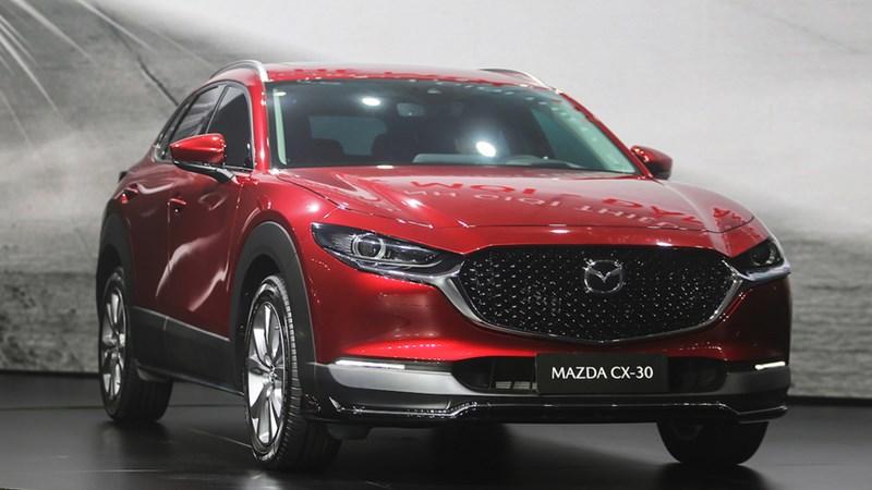 Mazda CX-3 và CX-30 nhập khẩu từ Thái Lan ra mắt thị trường Việt Nam