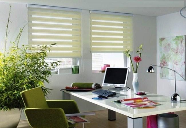 Các loại rèm cửa phù hợp với nội thất văn phòng