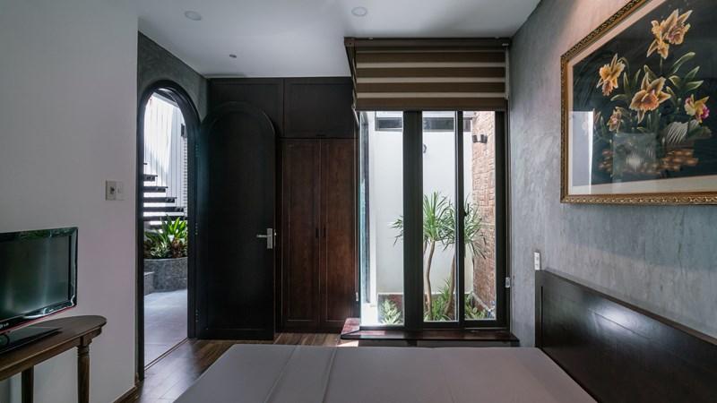 Thiết kế giản dị, hoài cổ của ngôi nhà gạch ở Đà Nẵng