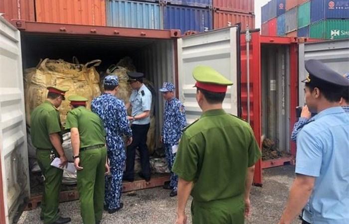 Cục Hải quan Hải Phòng phối hợp bắt giữ lô hàng 600 tấn quặng đồng