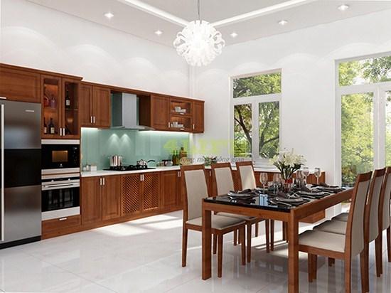 Cách thiết kế nội thất nhà liền kề khoa học, sang trọng
