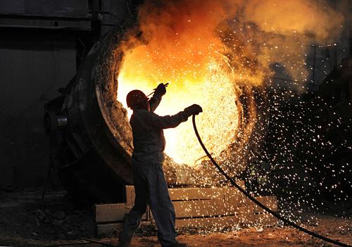Sản xuất Trung Quốc bất ngờ đi xuống