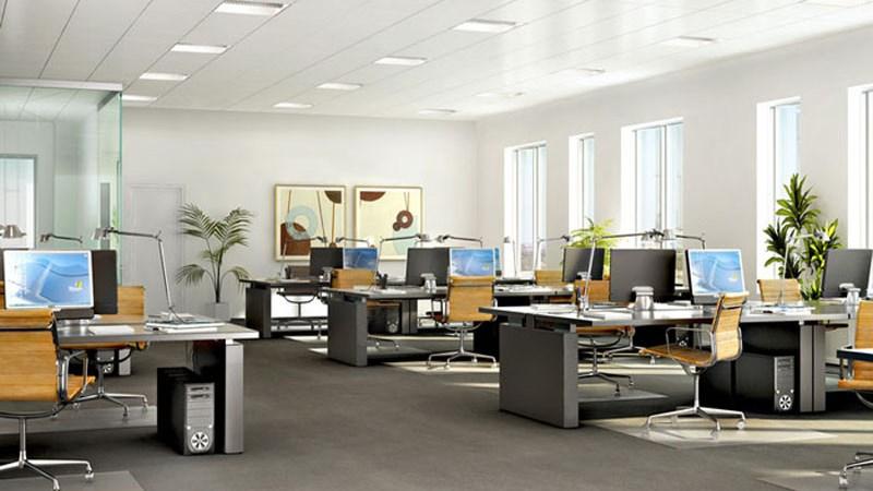 Cách lựa chọn, bố trí ánh sáng cho phòng làm việc